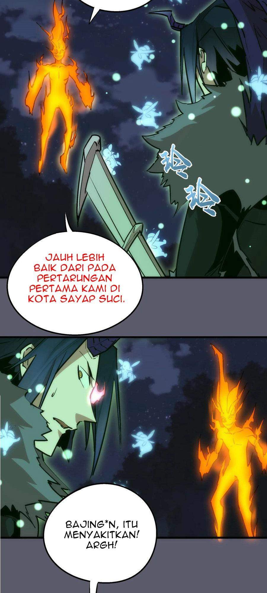 I'm Not The Overlord Chapter 57