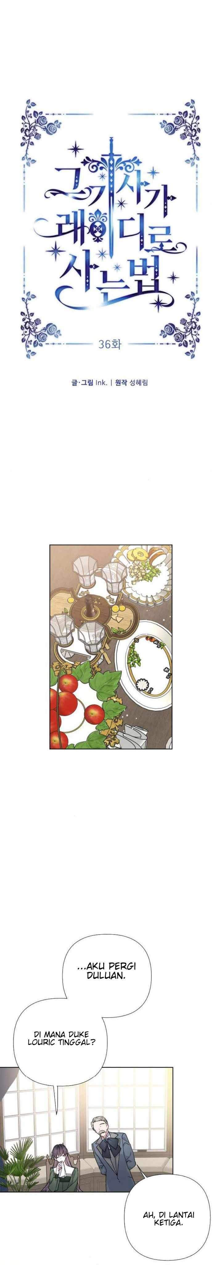 The Way That Knight Lives As a Lady Chapter 36