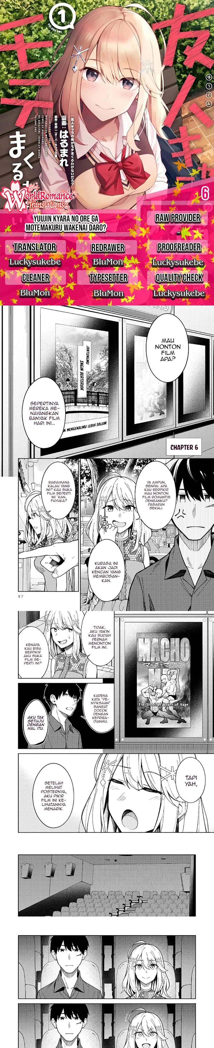 There's No Way A Side Character Like Me Could Be Populer, Right?! Chapter 06