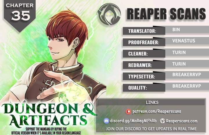 Dungeons & Artifacts Chapter 35